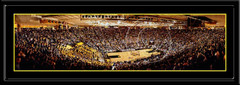 Iowa Carver Hawkeye Arena Framed Panoramic Print