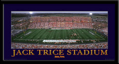 Iowa State Cyclones Jack Trice Stadium Panoramic Framed Print