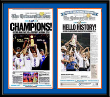 Florida Gators Consecutive Seasons Basketball Headlines Poster