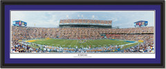 LSU Tiger Stadium Picture LSU 45 Yard Line Panoramic Photo