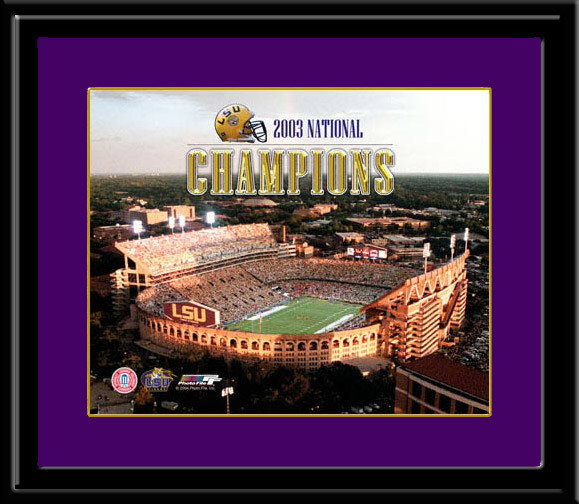2003 National Champions Lsu Posters