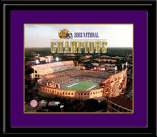 LSU 2003 National Championship Framed Picture