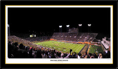 Wake Forest Demon Deacons Upend Eagles Panoramic Poster