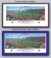 University of Kansas Memorial Stadium Poster