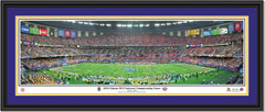 Louisiana State Poster 2008 Allstate BCS