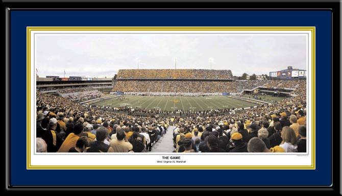The Game West Virginia Mountaineer Football Picture