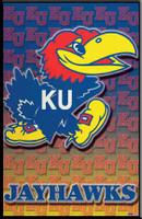 Kansas Jayhawks Logo Poster