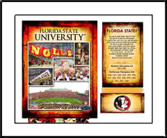 FSU Memories and Milestones Print