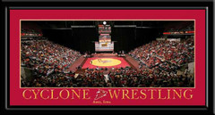 Iowa State Cyclone Wrestling Poster