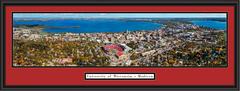 Wisconsin Camp Randall Stadium Aerial Panoramic Picture