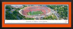 University of Virginia Scott Stadium Panoramic Picture matted