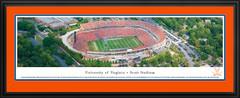 University of Virginia Scott Stadium Panoramic Picture matted