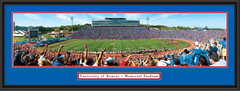 Kansas Jayhawks Memorial Stadium Panoramic Poster