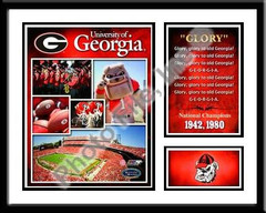 University of Georgia Memories and Milestones Framed Picture - Glory