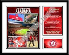 Alabama Memories and Milestones Print