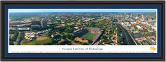 Georgia Tech Panoramic Aerial Photo Poster