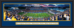 West Virginia Mountaineers WVU Milan Puskar Stadium Panoramic Print