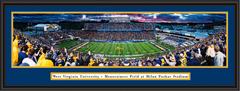 West Virginia Mountaineers WVU Milan Puskar Stadium Panoramic Print