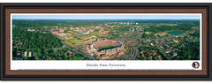 Florida State University Aerial Photo Framed Seminoles Poster