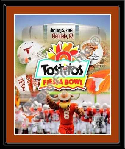 Tostitos Fiesta Bowl Champs UT Framed Poster