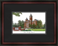 Auburn University Campus Lithograph Picture