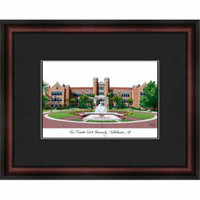 Florida State University Campus Lithograph Picture