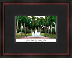 University of Miami Campus Lithograph Picture