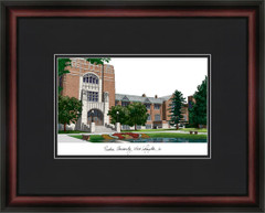 Purdue University Campus Lithograph Picture