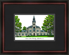Kansas State University Campus Lithograph Picture