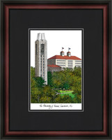 University of Kansas Campus Lithograph Picture