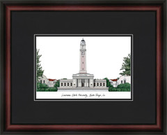 Louisiana State University Campus Lithograph Picture