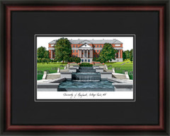 University of Maryland Campus Lithograph Picture