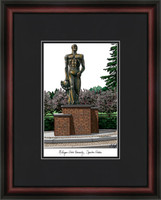 Michigan State University Spartan Statue Lithograph