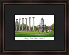 University of Missouri Campus Lithograph Picture