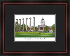 University of Missouri Campus Lithograph Picture