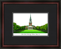Wake Forest University Campus Lithograph Picture
