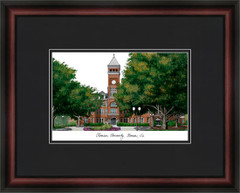 Clemson University Campus Lithograph Picture