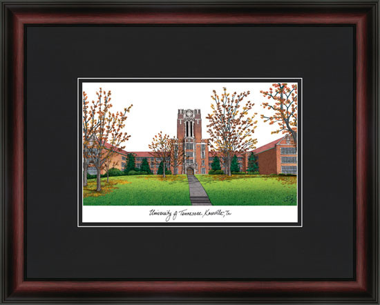 University of Tennessee Campus Lithograph Picture