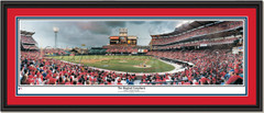 Los Angeles Angels The Magical Comeback Framed Poster Double Matting and Black Frame