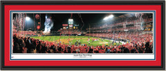 Los Angeles Baseball Angels Earn Their Wings Framed Poster Double Matting and Black Frame