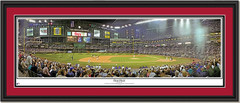 Chase Field Arizona Diamondbacks First Pitch Arizona Panoramic Poster