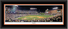 Baltimore Orioles Camden Yards - Last at Bat Double Mat and Black Frame