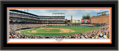 Baltimore Orioles Who's At Bat Framed Poster Double Mat