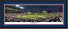 Chicago Cubs Wrigley Field Friendly Confines Framed Print Double Mat