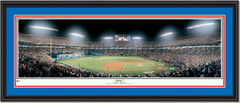 Miami Marlins 1997 World Series Game 7 Print Double Matting and Black Frame