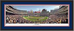 Texas Rangers The Ballpark Opening Day Framed Picture Double Matting and Black Frame
