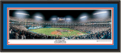 Miami Marlins 1997 World Series Champions Double Matting and Black Frame