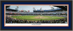 Detroit Tigers Stadium Last Pitch Double Mat Black Frame