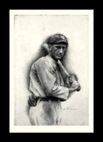 Shoeless Joe Jackson Vintage Print