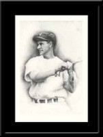 Lou Gehrig Vintage Print